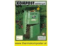 high quality easy assembly thermo compost for 450 liter