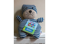 ***Microwavable Heatable Soft Cat Teddy*** LAST CHANCE