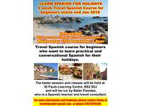 Travel Spanish for beginners