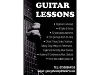 Guitar Lessons - All Levels (Deptford/Greenwich/South East London)