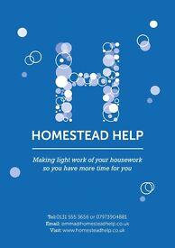 Self Employed Cleaners £8.50/hr - Trinity/Newtown/Stockbridge/City Centre/Colinton/Morningside