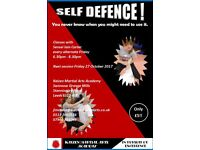 Self - Defence. You never know when you might need to use it!!