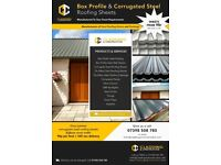 Box Profile & Corrugated Steel Roofing Sheets