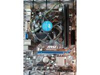 i5 4460 CPU - 8 GB DDR3 Corsair Vengeance RAM - H81M-P33 MSI Motherboard - COMBO!