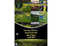 SATURDAY 9AM-10AM BRIGHOUSE JUNIORS GIRLS FOOTBALL 5-10 YEAR OLD PLAYERS WANTED