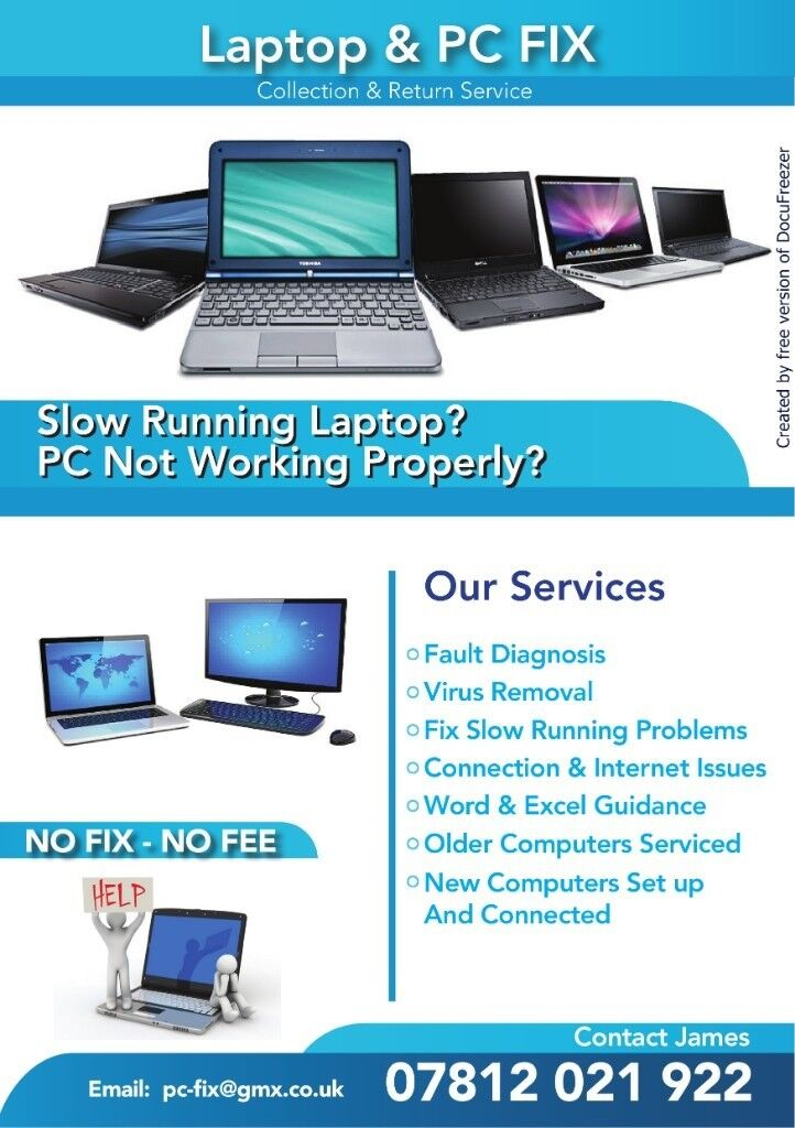 Computer Cure Repairs And It Services