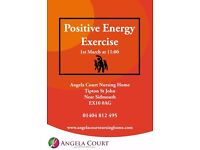 Positive Energy Exercise at Angela Court