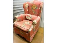 1 SOLID ARM CHAIR - BARGAIN £20 QUICK SALE ONO