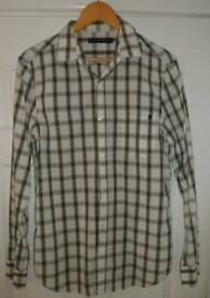 French Connection long sleeved check shirt M