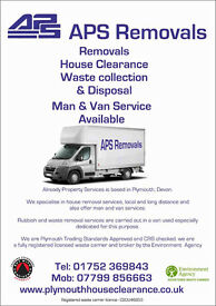 APS Removals & Clearances - Licenced registered fully insured waste carrier.