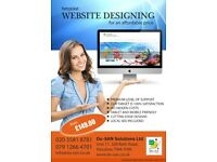 Website just for £149 or £14.99 per week, No hidden cost or extras