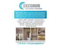 DECORUS :- Plastering over Artex,Rendering & Damp Proofing (Servicing Cardiff & Vale of Glamorgan)