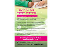 TRANSFER TEST TUTOR (AQE & GL)