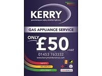 Gas Service Appliance **£50+vat**