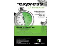Express Personal Training Sessions - 10 for just £125
