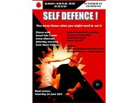Self Defence - Do you know when you might need it!