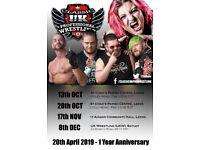 Family Wrestling in Leeds