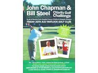 Charity Golf Day supporting Ashgate Hopsice and Weston Park Cancer Hospital