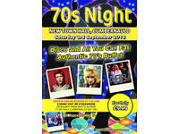 fundraiser for StrathCarron Hospice 70's night!!