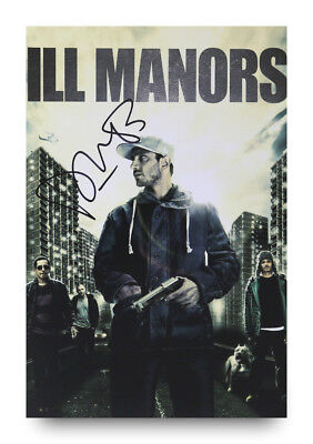 Plan B Signed 12x8 Photo Ill Manors Ben Drew Autograph Memorabilia + COA
