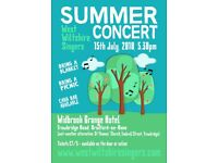 ** West Wiltshire Singers Summer Concert **