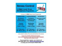 FREE Stress Management Classes for the New Year