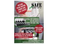 Amazing deals on security alarms and cameras, installed across the U.K.
