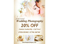 WEDDING PHOTOGRAPHY - 20% OFF (Limited Time) Full Professional Packages at Affordable Prices!