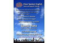Professional Voice Coach - Accent Reduction Specialist in central London