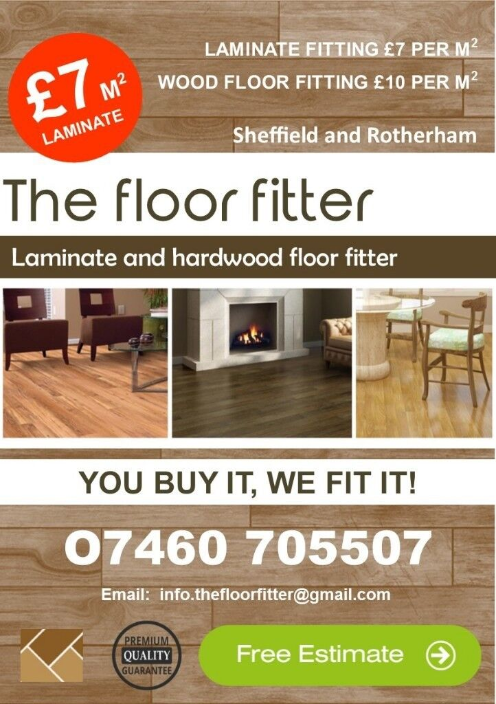 Laminate Floor Fitter And Handyman Service In Sheffield South