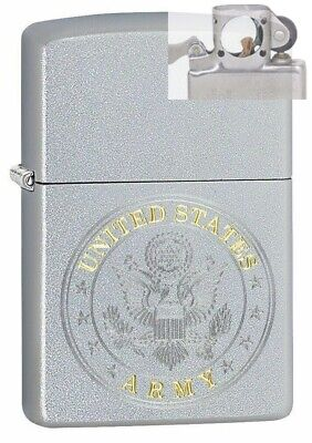 Zippo 49153 United States Army Seal Design Lighter with PIPE INSERT PL