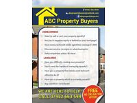 We Buy and Lease (Long term) any property!