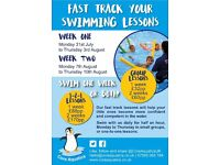 Swimming lessons in Nottingham, West Bridgford - FAST TRACK COURSE!