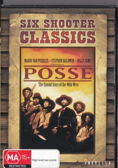 POSSE - MARIO VAN PEEBLES - NEW & SEALED REGION 4 DVD FREE LOCAL POST
