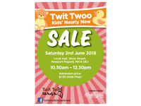 Twit Twoo Kids' Nearly New Sale - Newport Pagnell