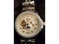 ##XMAS BARGAIN## BREITLING NAVITIMER with automatic and skeleton movement £40