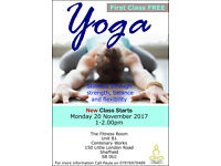 NEW Yoga Class Starting