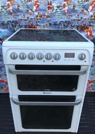 Electric 60cm hotpoint Cooker