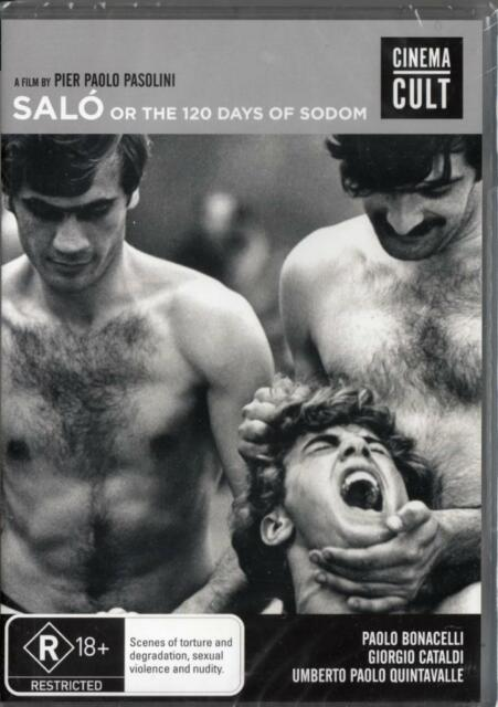 SALO OR THE 120 DAYS OF SODOM - 2 DISC SET BLU-RAY NEW & SEALED -FREE LOCAL POST