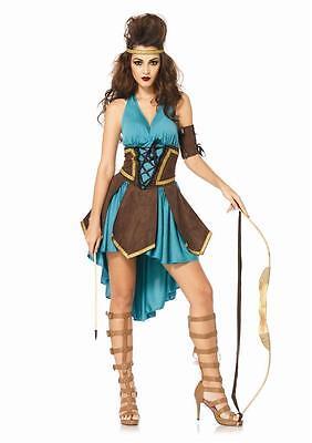 NEW Sexy Celtic Warrior Maiden Renaissance Women's Adult Halloween Party Costume