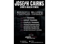 Personal Training Services Provided