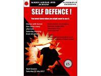 Self Defence - you never know when you might need it!