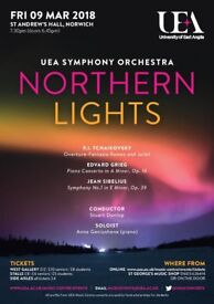 Northern Lights: UEA Symphony Orchestra Concert