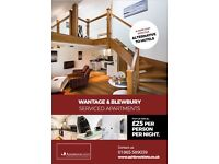 Ashbrook Serviced Apartments - short let accommodation in Oxfordshire. Oxford, Didcot, Wantage