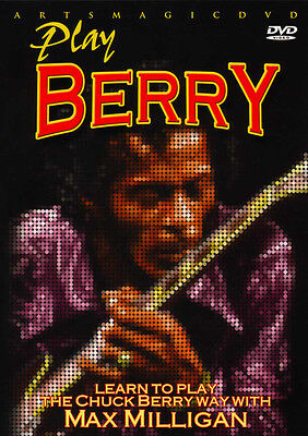 ArtsMagic PLAY Blues Guitar THE CHUCK BERRY WAY Video Lessons DVD Max Milligan