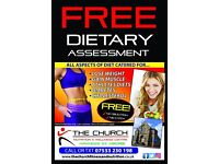 FREE DIETARY ASSESSMENT at The Church Nutrition & Wellness Centre, Airdrie