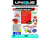 ROUND THERMOSTATIC SHOWER - ONE SET ONLY £95.00 - CHEAPEST PRICE EVER.