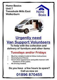 Volunteer Van Help