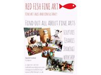 Hand Made Gifts and Fine Art Workshop/Red Fish Fine Art