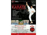 TISKA karate Moulton (4 lessons FREE for beginners)